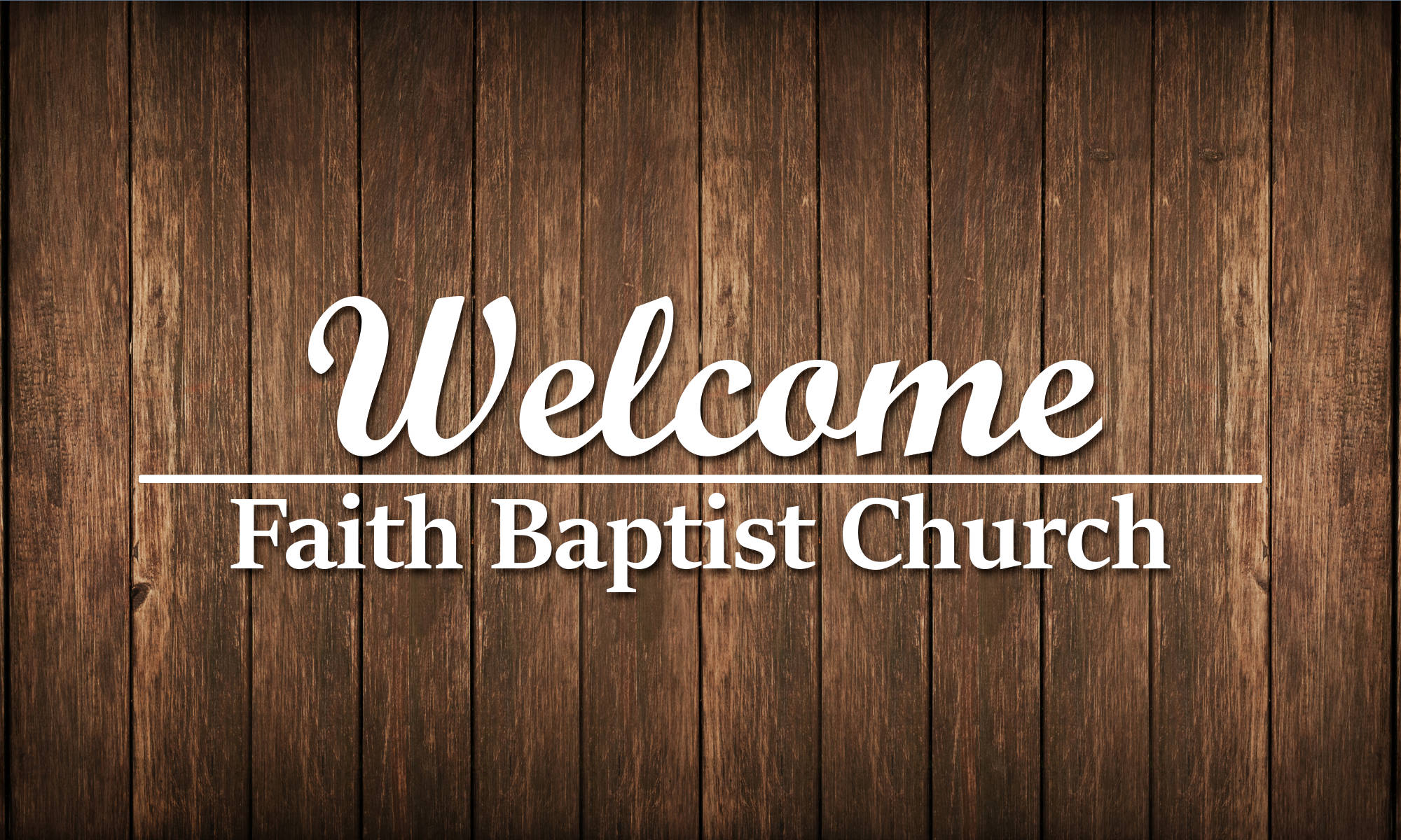 Faith Baptist Church, Faith NC